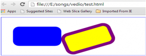 Rect Svg html5